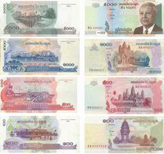 cambodia currency   Cambodian currency images : Cambodian Riels