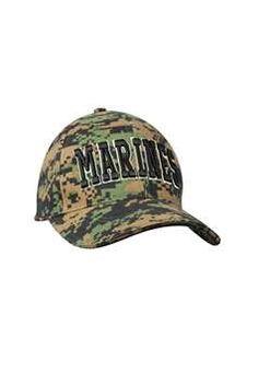 Sporting Goods Us Air Force Seal Brown Digital Camouflage Cap Hat Adj