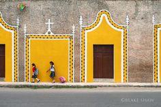 Izamal street scene