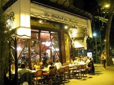 NYT travel writer: Le Bistrot du Peintre, 116, avenue Ledru-Rollin, 11th; (33-1) 47-00-34-39; bistrotdupeintre.com. I've never eaten here, but it's my favorite building in Paris, with a stunning Art Nouveau interior that's perfect for afternoon coffee.