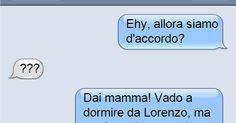 La figlia manda un sms alla madre. Guardate però che cosa succede!