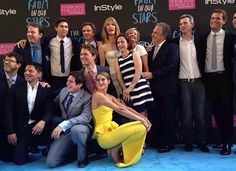 The Fault In Our Stars cast and crew at the New York City premiere