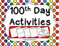 Printable 100th Day