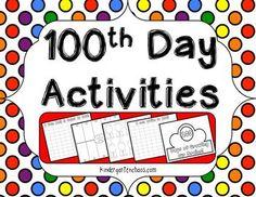 Printable 100th Day