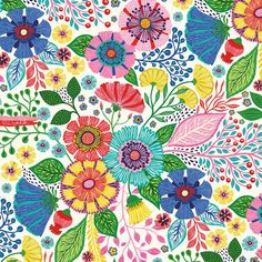 new floral pattern finished:)... #pattern #repeat #surfacedesign #fliwers #floraldesign #flowers