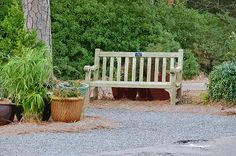 I uploaded new artwork to fineartamerica.com! - 'Bench And Containers' - http://fineartamerica.com/featured/bench-and-containers-lanjee-chee.html