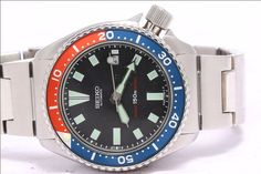 Seiko 5 Pepsi Bezel Automatic Mens Gents by vintagewatches4you, $99.99