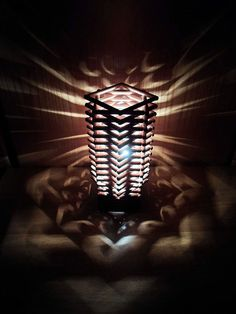 Cool DIY Lamp Ideas for Teenage Boys Bedroom | Wooden Dowel Lamp by DIY Ready at http://diyready.com/easy-diy-teen-room-decor-ideas-for-boys/