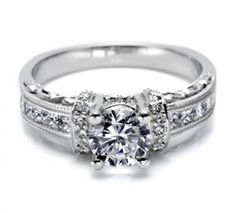 Christopher William Jewelers :: TACORI HAND ENGRAVED ENGAGEMENT RING