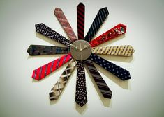 Tie clock. Un reloj diferente