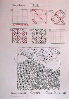 Zentangle Patterns | Zentangle patterns