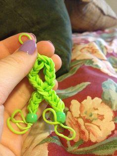 Mito rainbow loom charm !!!