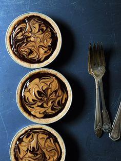 Swirls and Chocolate Peanut Butter Tarts » The Tart Tart