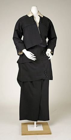 Suit Date: 1914 Culture: American Medium: wool Accession Number: C.I.51.97.28a, b