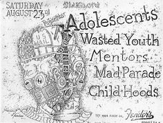 Wasted Youth, Mentors, Adolescents
