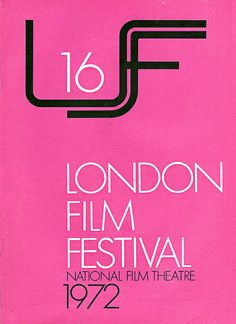 1972 London Film Festival Poster | Flickr - Photo Sharing!