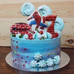 Торт мальчику Человек Паук без мастики. #cake#boy#spider RM_home_bakery (@rm_home_bakery)