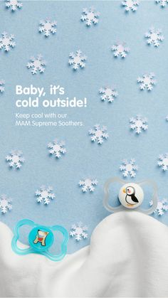 Keep cool with our MAM Supreme Soother! With its extra thin and flexible teat neck, the soother is comfortable to wear and supports a healthy teeth and jaw development. Keep Cool, Healthy Teeth, Its Cold Outside, Supreme, Cool Stuff, Baby, Products, Baby Humor