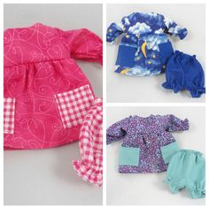 Doll Outfits: Dresses Bloomers For Dress Up Dolls by JoellesDolls