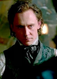 Tom Hiddleston in Crimson Peak- Okay Tom, this scares me a little and by a little I mean a lot.