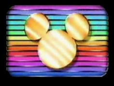 Old Retro Disney Channel Footage Video VHS Rip 1980's  still had a lot of this when I was little and in kindergarden... my childhood mornings in nutshell!