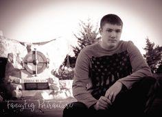 FancyFig Portraiture by AB. Wichita, Kansas photography. Keeper of the Plains. Senior boy photography.