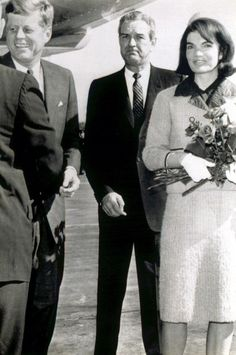 John and Jackie Kennedy, Gov. Connolly in Dallas, 11/22/1963
