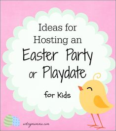 Find fun ideas for crafts and activities, party favors, artsy foods, and decorations that will be sure to make it an EGG-citing event!