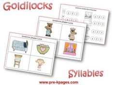 Goldilocks and the Three Bears Preschool Activities | Pre-K Pages