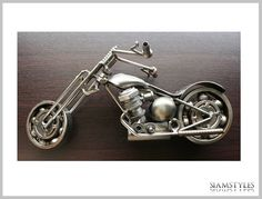 Hey, I found this really awesome Etsy listing at https://www.etsy.com/listing/190577237/chopper-out-of-scrap-metal