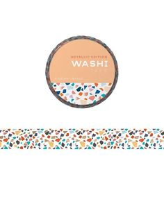 Mosaic Washi Tape | Coco and Duckie Desk Set, Foil Stamping, Washi Tape, Color Pop, Mosaic, Projects, Gifts, Daisies, Envelopes