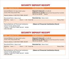 receipt format word free receipt template doc for word documents