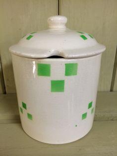 T.G.Green 'Checkers' Preserve Pot