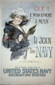 All countries have their own style when it comes to military recruitment posters, and even within one country, the style will change drastically depending on the specific branch looking for volunteers. Here are some interesting examples of military recruitment posters from World War I.