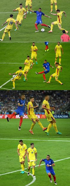 Dimitri Payet scores a late goal to hand France's first win (FRA 2 - 1 ROM) #EURO2016