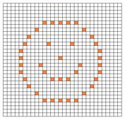 Ravelry: Smiley Face Bobble Chart pattern by Kari Philpott