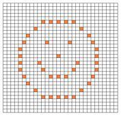 Ravelry: Smiley Face Bobble Chart pattern by Kari Philpott