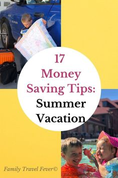 The kids are out of school soon and its time to plan a fun summer vacation on a tight budget. Here are our top money-saving tips for frugal, family travel. Travel Tips With Baby, Packing List For Travel, Traveling With Baby, Travel With Kids, Family Travel, Traveling By Yourself, Group Travel, Rv Travel, Travel Hacks
