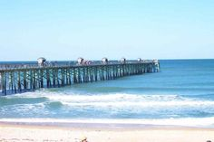 Flagler Pier in Palm Coast Florida..It's beautiful there.  I miss it.