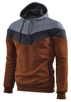 Amazon.com: Mooncolour Mens Novedad bloque del color sudaderas Cozy Sport otoño Outwear: Ropa