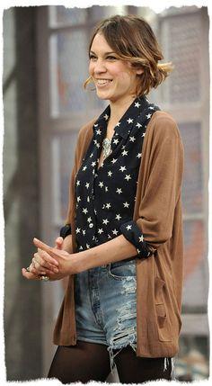 Love the stars blouse - Alexia Chung
