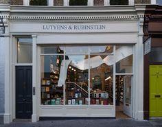 Sarah Lutyens and Felicity Rubinstein Bookshop! Notting Hill, UK