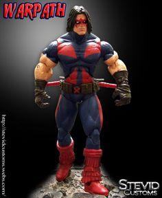 Warpath (Marvel Legends) Custom Action Figure