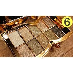 10 Colors Eyeshadow Pallete Make Up Naked Glitter Diamond Bright Eye Shadow Palette Professional Cosmetic paleta de sombra