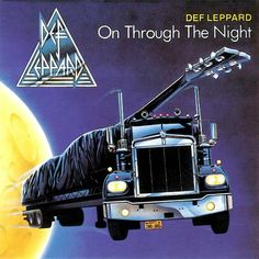 """Def Leppard - debut """"On Through the Night"""" album from 1980. IMHO, their best and heaviest LP. This was when they were a true NWoBHM band."""