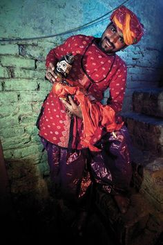 Puppeteer of Kathputli Colony Photo by Serge Bouvet -- National Geographic Your Shot