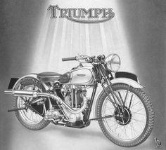 Triumph #design #motorcycles #motos | caferacerpasion.com
