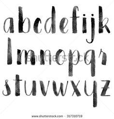 Calligraphy Alphabet Stock Photos, Images, & Pictures | Shutterstock