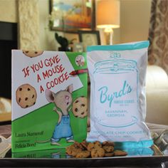 Mouse Book & Cookies Gift Set from Byrd's Famous Cookies