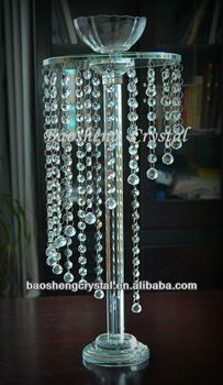 Waterfall Hanging Crystal Beaded Centerpieces For Wedding BS CH035 View